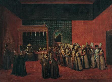 Jean Baptiste Vanmour, 'Sultan Ahmet III Receiving a European Ambassador', 1700-1750