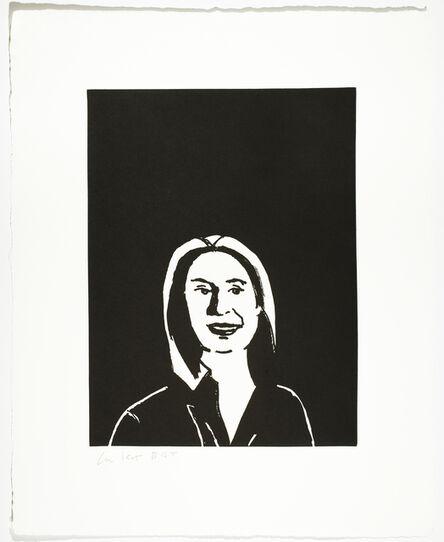 Alex Katz, 'Ada', 2017