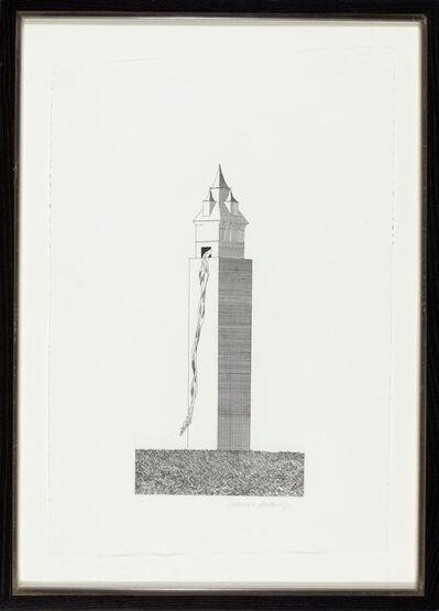 David Hockney, 'The Tower Had One Window', 1969
