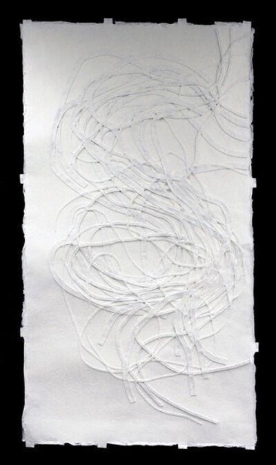 Monika Grzymala, '#6 Meander (from the series making paper),', 2014