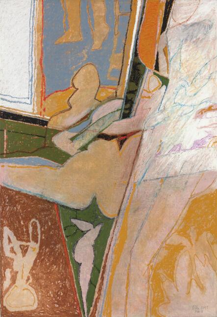Otis Huband, 'Figures at a Mirror', 2017