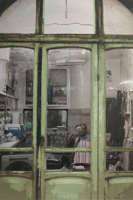 Luke Cornish (ELK), 'Barber, Old City Damascus', 2017