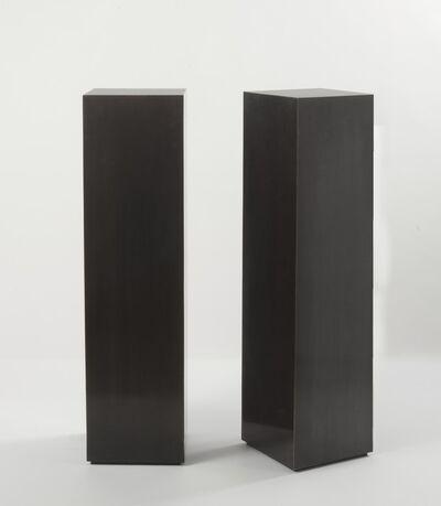 Franck Chartrain, 'Pair of Pedestals', 2014