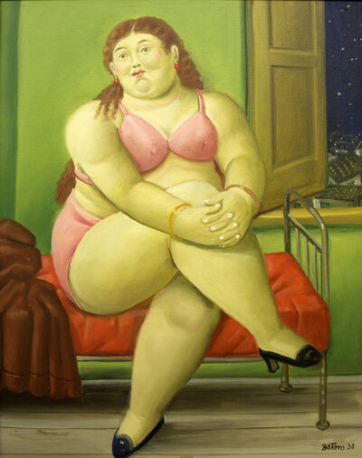 Fernando Botero, 'The Bedroom', 1998