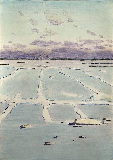 Per Adolfsen, 'Frozen Fjord III', 2021