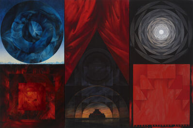 Vitaly Komar, 'Landscape with Lenin's Tomb', 2007-2009