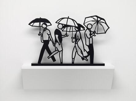 Julian Opie, 'Summer Rain 3', 2020