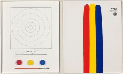 Jasper Johns, 'Target, from Technics and Creativity', 1970-1971