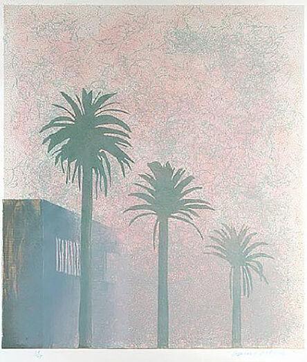 David Hockney, 'Mist', 1978-1980