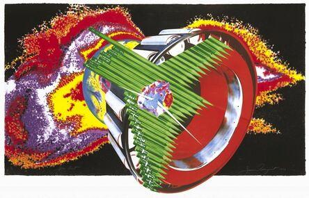 James Rosenquist, 'Space Dust', 1989