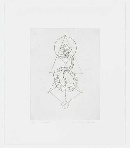 Leonora Carrington, 'Snake', 1998