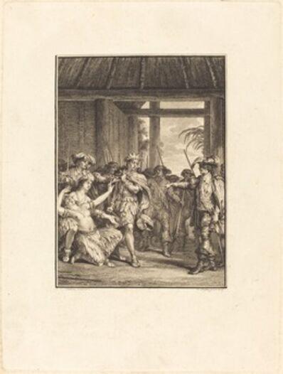 Pietro Antonio Martini after Jean-Michel Moreau, 'La découverte du nouveau monde'