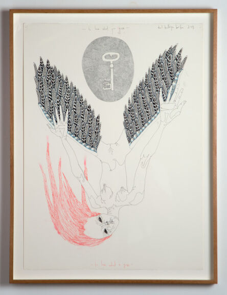 Del Kathryn Barton, 'to love what you give', 2013