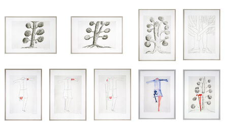 Louise Bourgeois, 'Topiary: The Art of Improving Nature', 1998