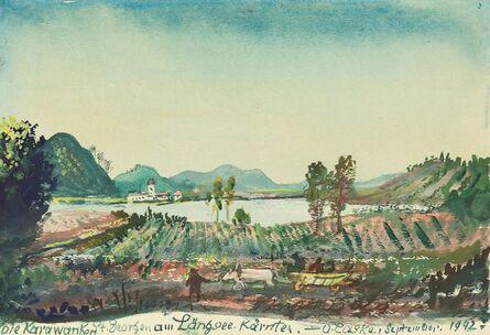 Oskar Laske, 'St. Georgen am Längsee in Kärnten', 1942