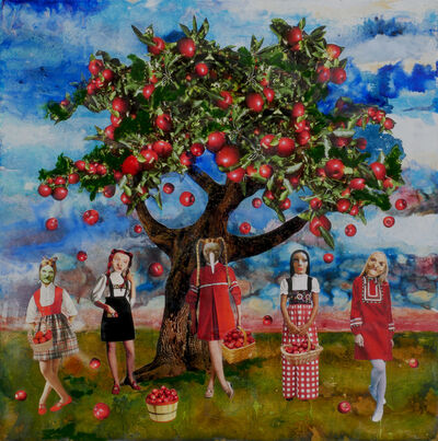 Marnie Weber, 'Gathering Apples on a Sunny Day', 2009