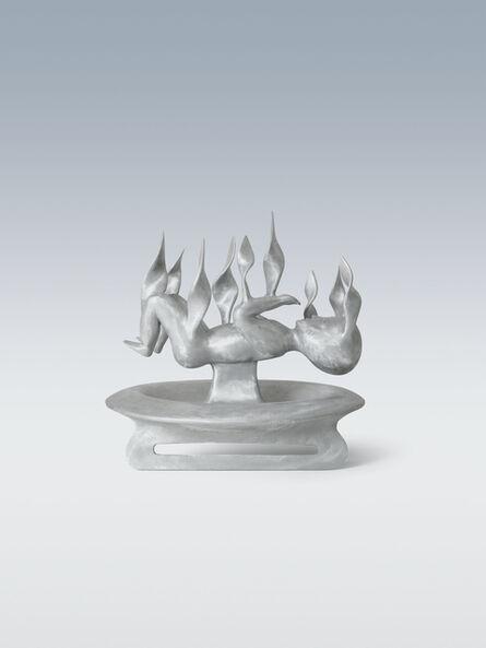 Bruno Gironcoli, 'Burning Child I', 1998-1999