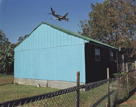 William Greiner, 'Jet Over Blue & Black House', 1994
