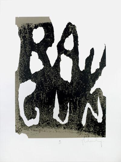 Claes Oldenburg, 'Ray Gun', 1972