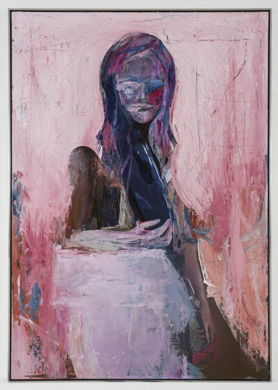 Andro Wekua, 'A. Portrait, Chrome', 2016