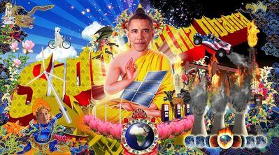 Kenneth Tin-Kin Hung, 'Buddha - Siddartha Obama', 2009