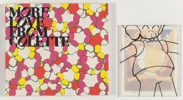 KAWS, 'Kimpson Cards and More Love From Colette (two works)'