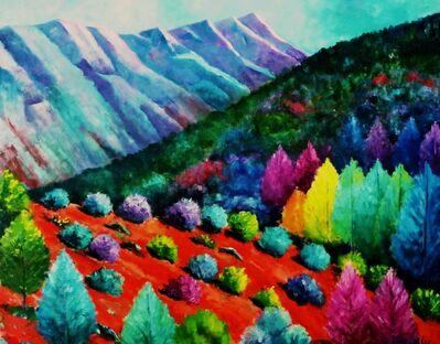 William Kelley, 'Montagne Sainte - Victoire'