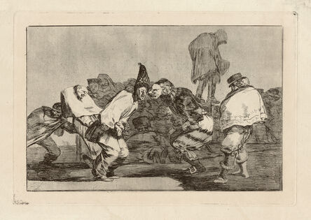 Francisco de Goya, 'Disparate de carnabal – Alegrias antruejo, que man͂ana seras ceniza. Carnival Folly - Rejoice, Carnival, for Tomorrow Thou Wilt Be Ashes', ca. 1815/24