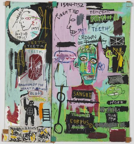 Jean-Michel Basquiat, 'In Italian', 1983