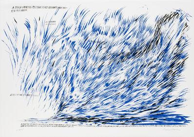 Raymond Pettibon, 'Untitled (A Sea of Grinding Tectonic Plates...)', 2008