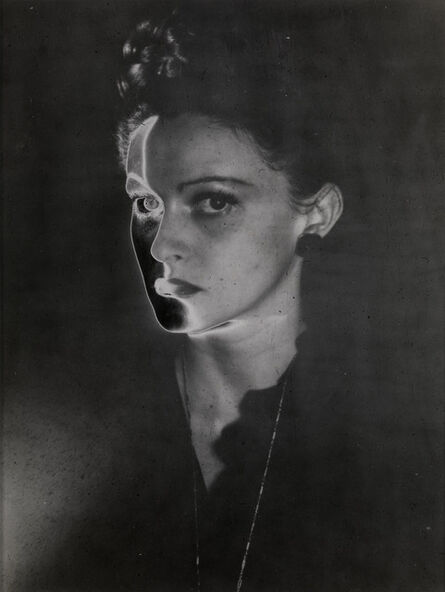 Erwin Blumenfeld, 'Solarised Portrait, New York', 1947