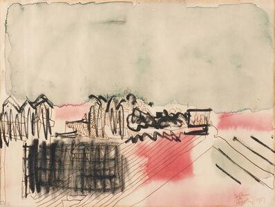 Paul Feeley, 'Untitled', 1957