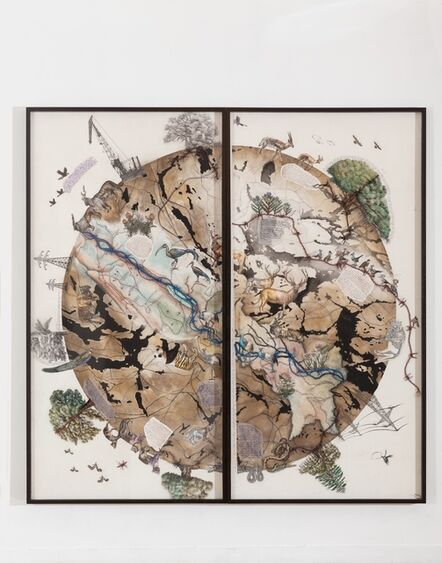 Reena Saini Kallat, 'Earth Citizens ', 2019