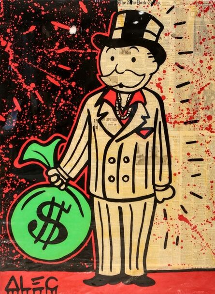 Alec Monopoly, 'Scarface Money Bag', 2017