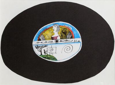 Saul Steinberg, 'Levallois Records from Derrière le Miroir ', ca. 1965