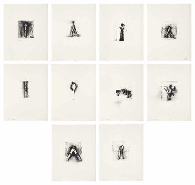 Jim Dine, 'Ten Winter Tools', 1973