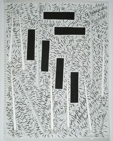 """Miguel Angel Ríos, 'Drawing from the series, """"Endless"""" Nº 51', 2015"""