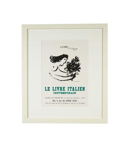 Marc Chagall, 'Le Livre Italien Contemporian', 1959