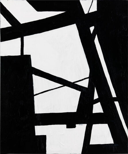 Nicole Yates, 'Black and White Abstract 1', 2020