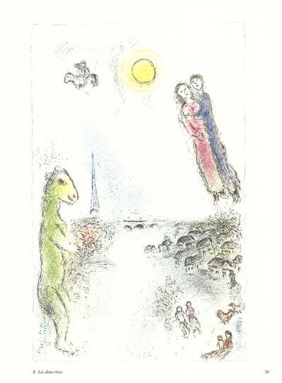 Marc Chagall, 'Les Deux Rives', 1981