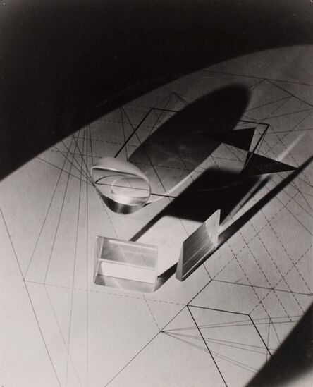 György Kepes, 'Light and line pattern', 1940