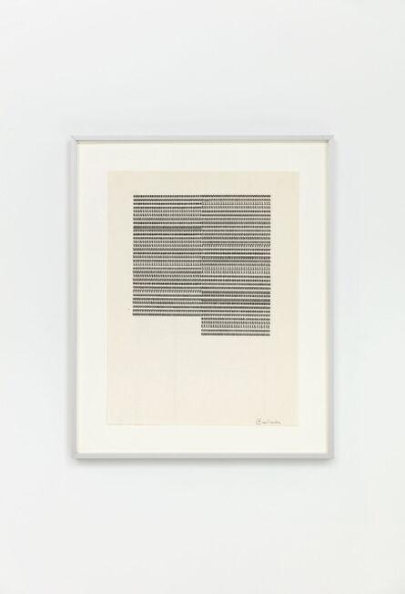 Carl Andre, 'sssssssssssssssssssssssssssssswwwwwwwwwwwwwwwwwwwwwwwwwwwwww', 1958 -1963