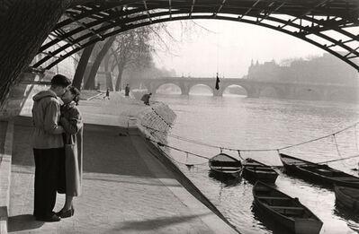 Marc Riboud, 'Lovers of the Pont Des Arts, Paris.', 1953