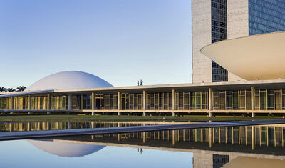 Vincent Fournier, 'National Congress of Brazil #2, Brasília, 2019', 2019