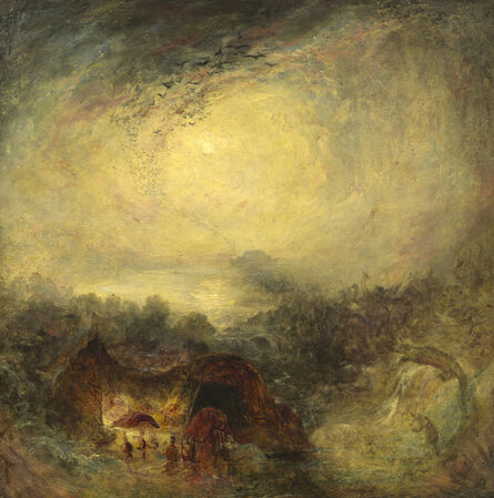 J. M. W. Turner, 'The Evening of the Deluge', ca. 1843