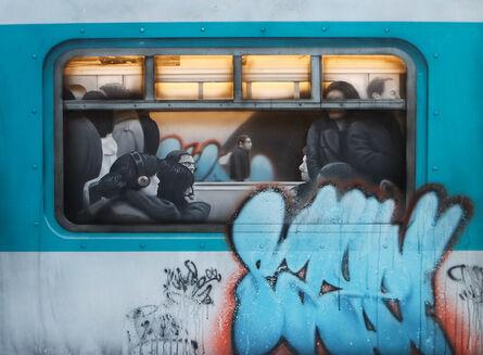 SAYPE, 'Metro Lumineux', 2016