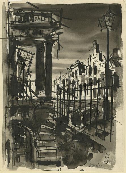 Jacek von Henneberg, 'London', 1947