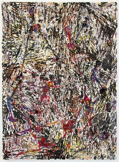 Jacin Giordano, 'Cut Painting 63', 2015
