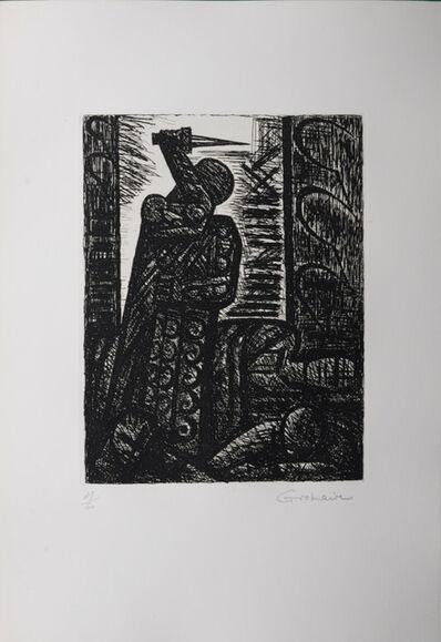 Marcel Gromaire, 'Macbeth : Le meurtre de Duncan', 1958