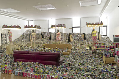 Thomas Hirschhorn, 'Too Too - Much Much', 2010